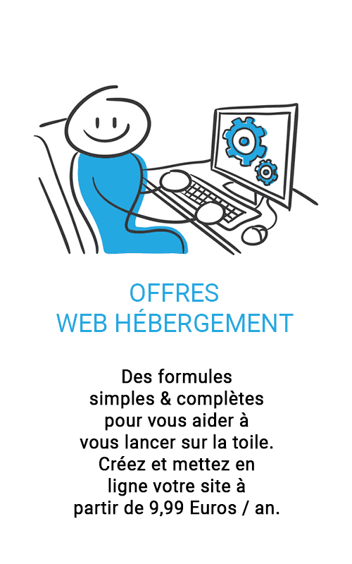 Offres web hébergement