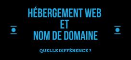Hébergement web et nom de domaine